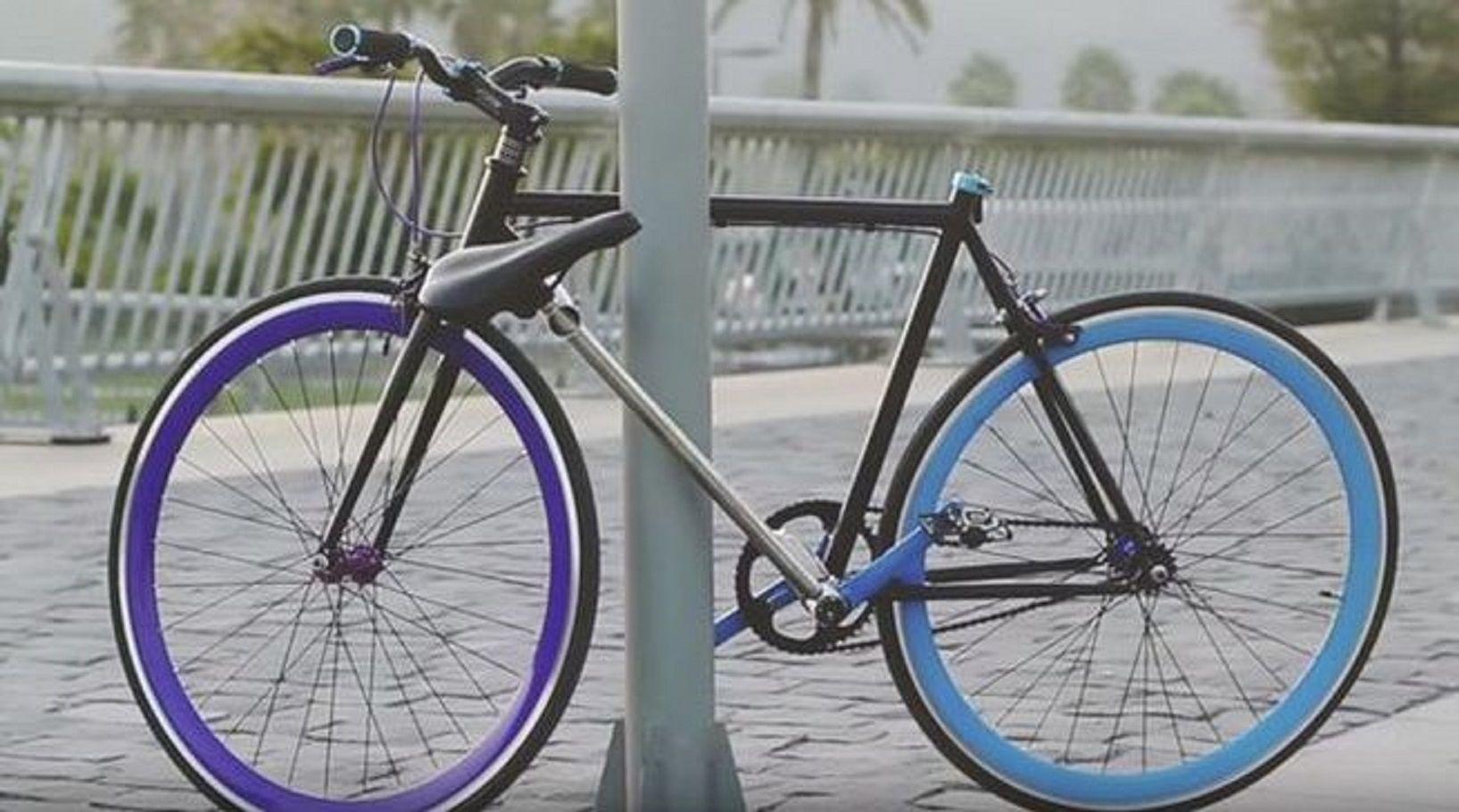 Crean la primera bicicleta que no puede ser robada