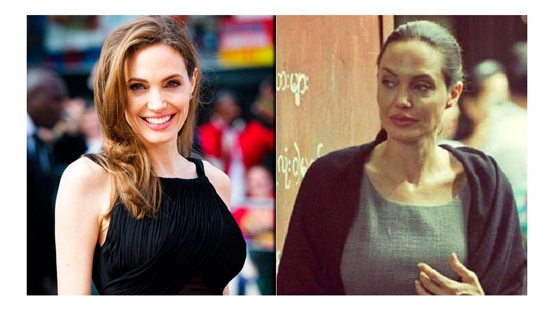 Angelina Jolie llegó a los 44 kilos y ya no tiene curvas