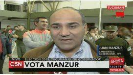 Manzur: Tenemos esperanza y entusiasmo