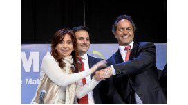 Cristina defendió a Scioli de la campaña sucia contra el FPV que empezó en 2011