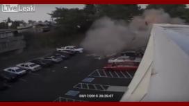 VIDEO: Terrible explosión en un hotel de Washington por fuga de gas