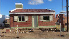 Ministerio de Planificación y Cáritas finalizaron 100 viviendas en Villa Dolores