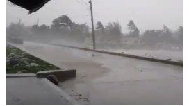 El tifón Goni siembra pánico en islas de Japón