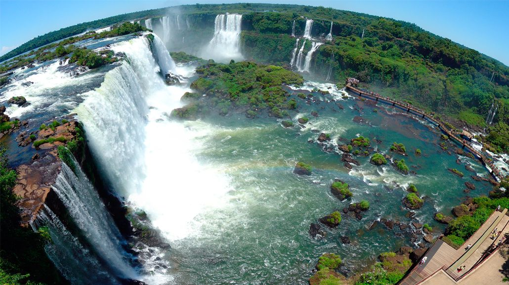 Un derrumbe obligó a cerrar un sector del circuito de Cataratas del Iguazú