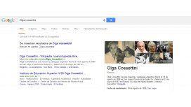 El error de Google: ¿escribió mal el nombre de la mujer argentina que homenajea?