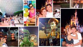 Virginia Gallardo fue a Disney con su novio y volvió a tener 15 años