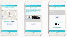 Una app que te manda un auto de Uber y te lleva a un bar aleatorio