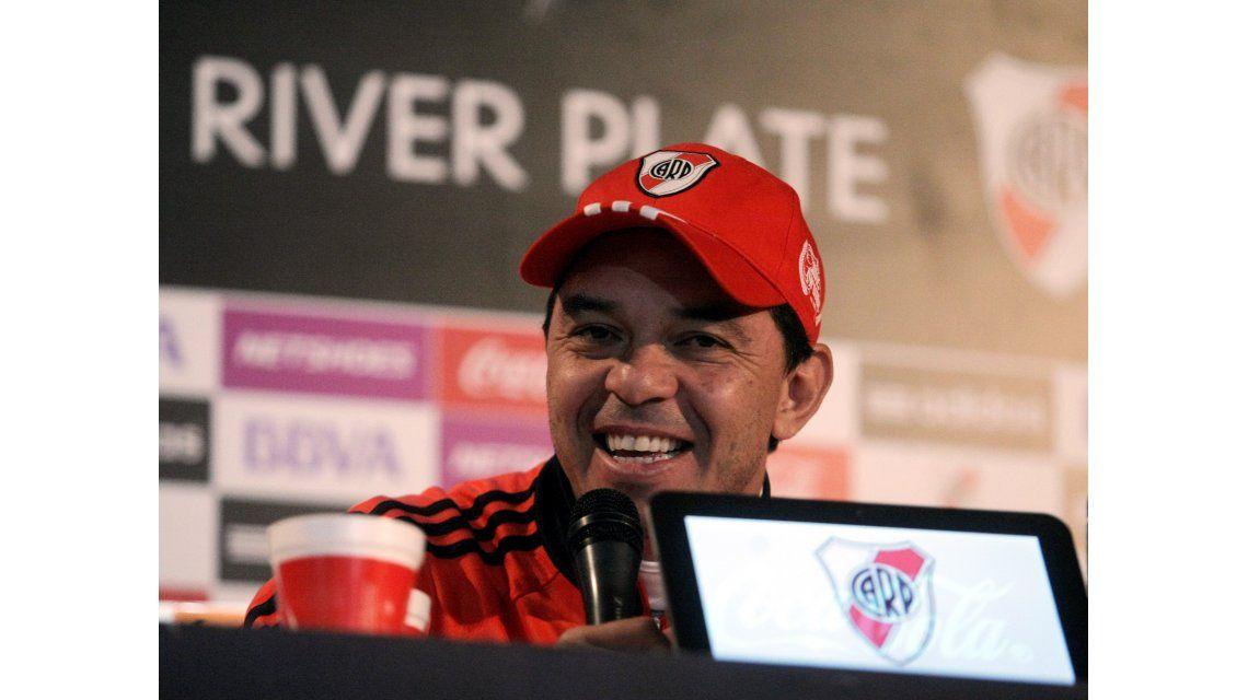 Gallardo confía en que River peleará el campeonato y la Copa Libertadores