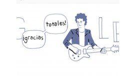 El homenaje de Google a Cerati que recorre el mundo