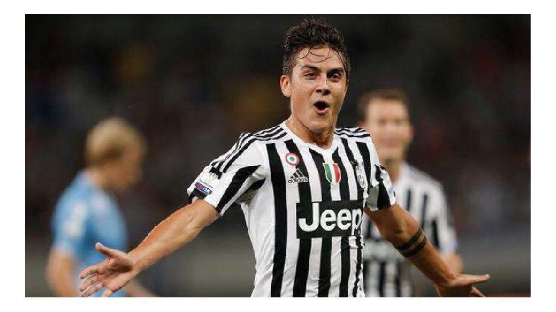 Debut, gol y título para Paulo Dybala en la Juventus