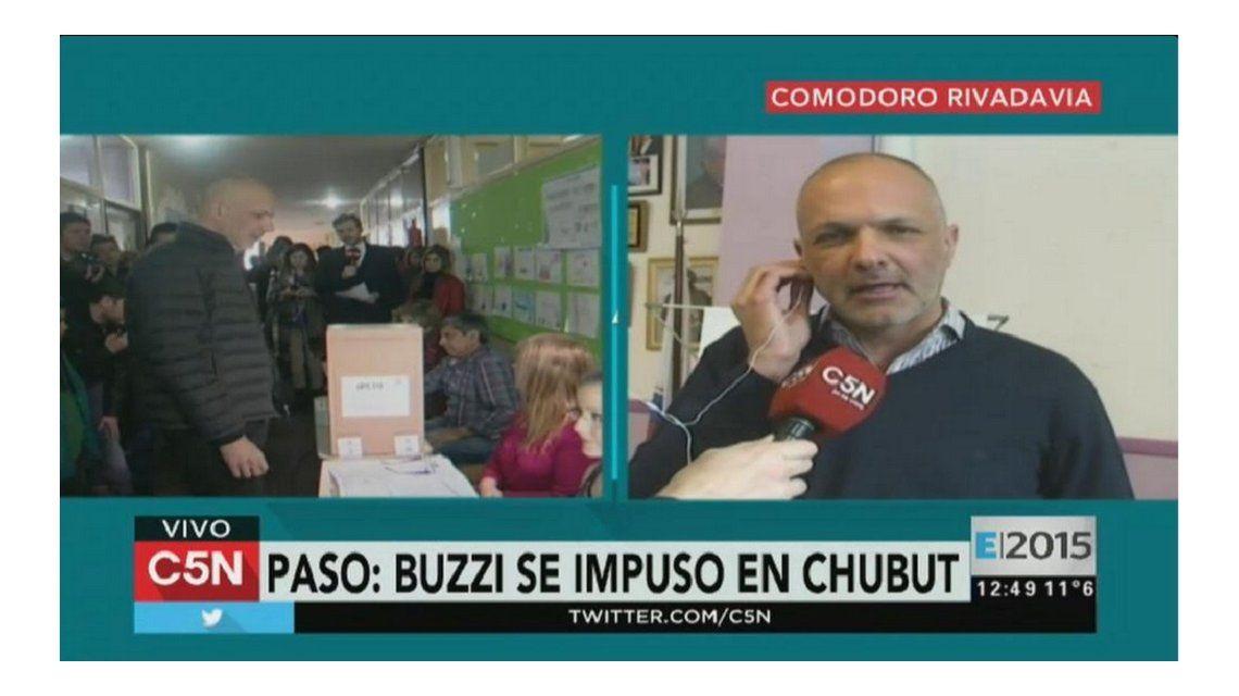 Martín Buzzi se impuso en las PASO de Chubut