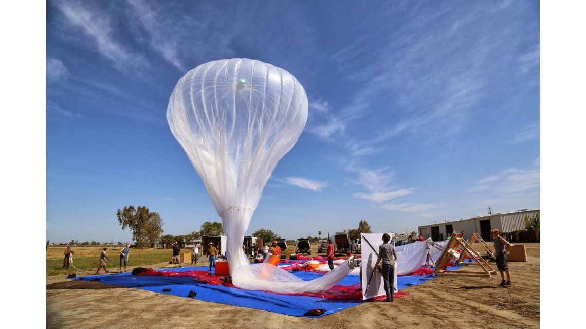 Un globo del proyecto Loon causó confusión entre indígenas