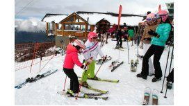Las vacaciones de Valeria Mazza en Bariloche