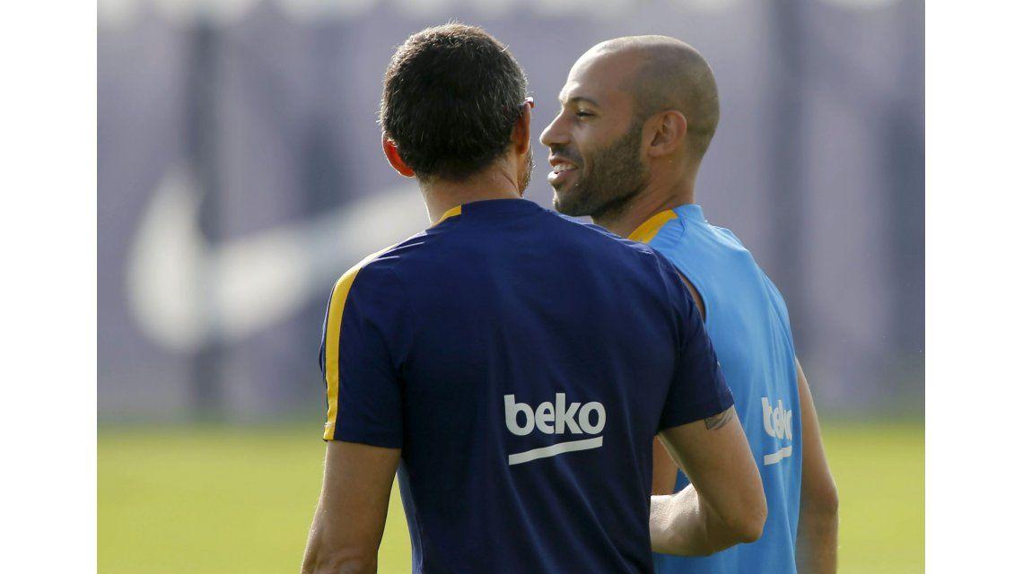 Allá también es héroe: en Barcelona eligieron como capitán a Mascherano