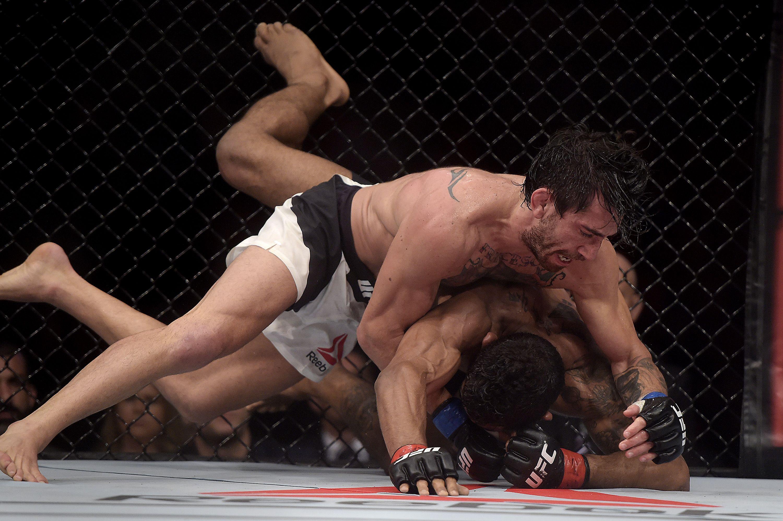 El argentino Cannetti, descalificado de su pelea en UFC por una sustancia prohibida
