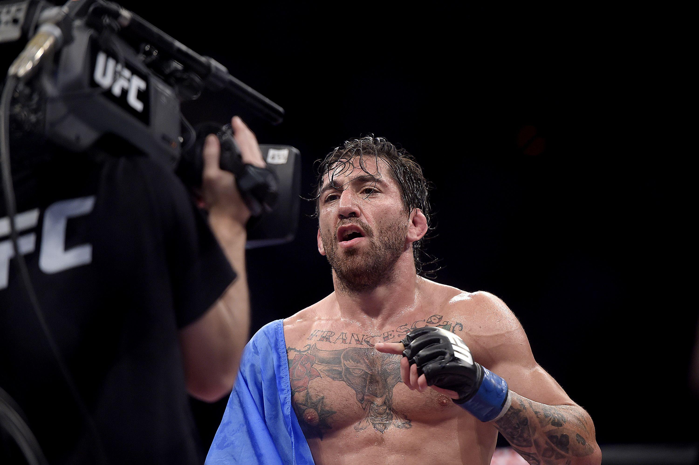 UFC celeste y blanca: Guido Cannetti vuelve a subirse al octágono más famoso