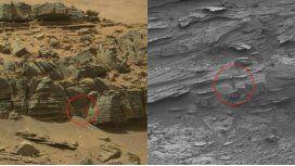 Aseguran que Curiosity encontró a una mujer en una cueva de Marte