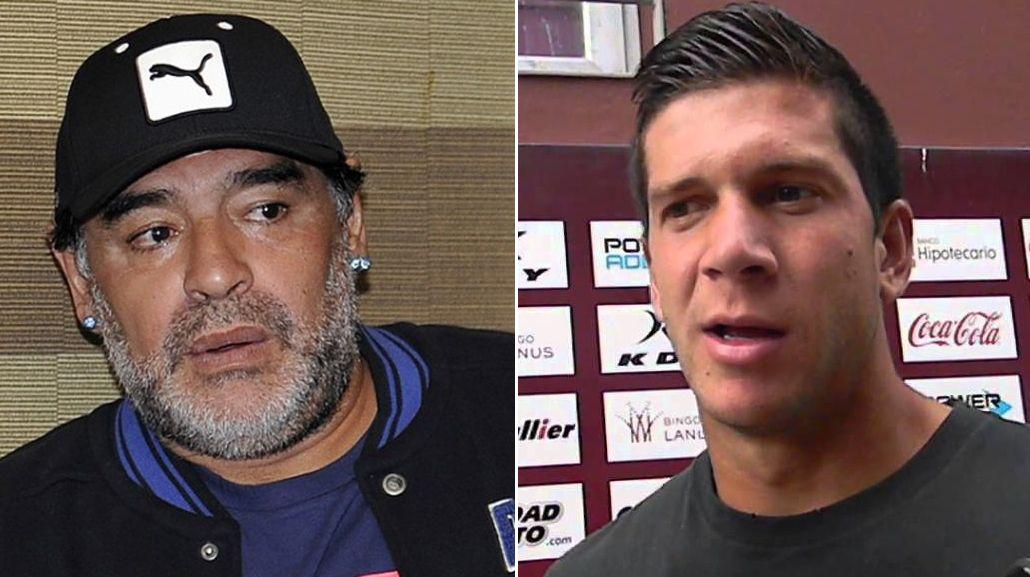 Maradona recordó a Barisone con un aviso