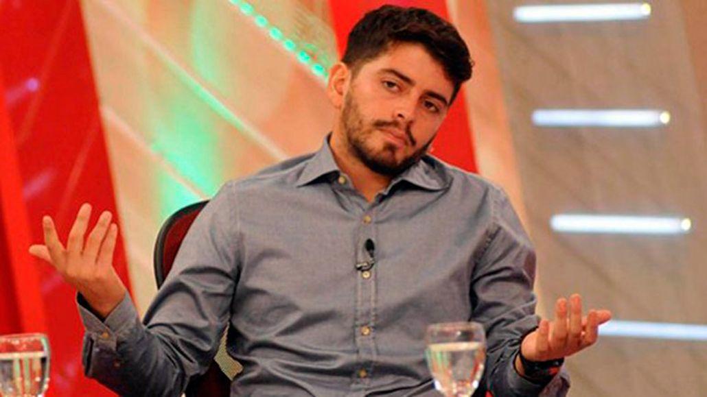 ¿En son de paz? Diego Maradona Jr. y un guiño futbolero a su padre