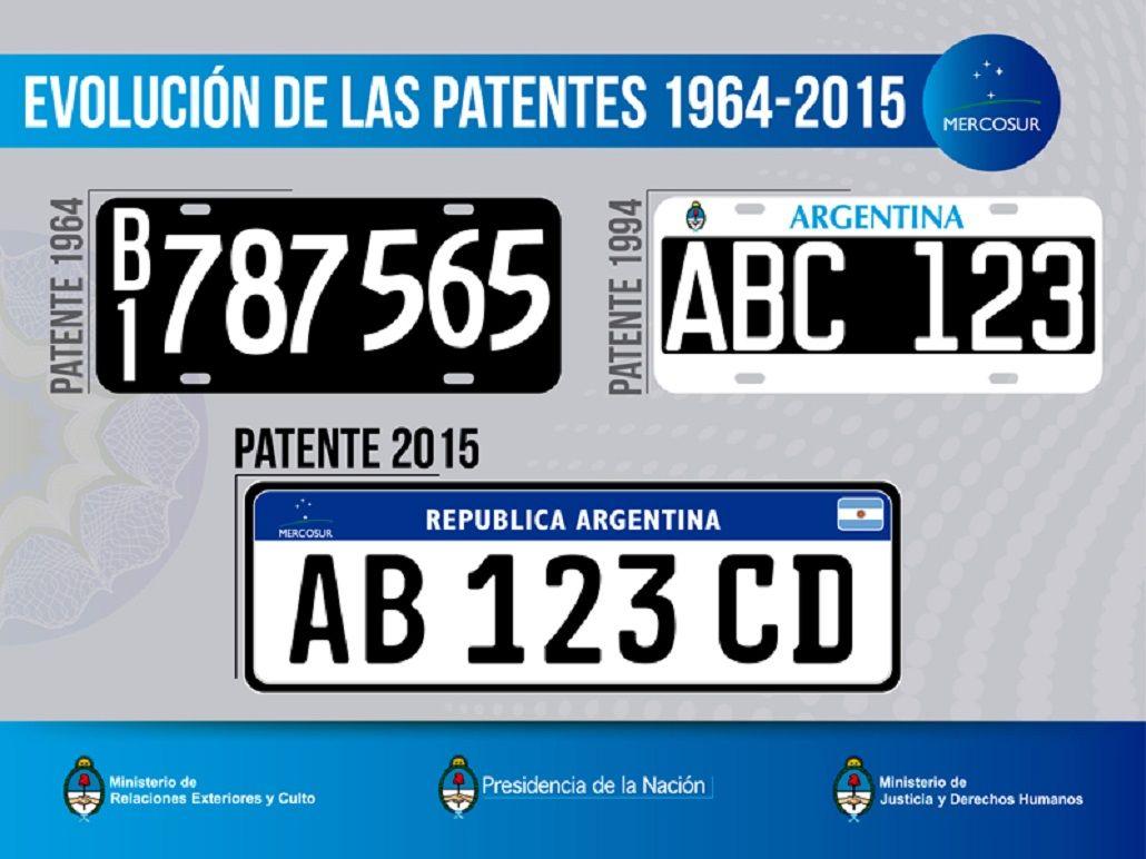 Las patentes de tres letras y tres números llegan a su fin: la nueva, a un paso de ser ley