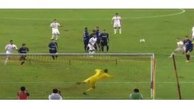Mirá el golazo de James Rodríguez en el Real Madrid