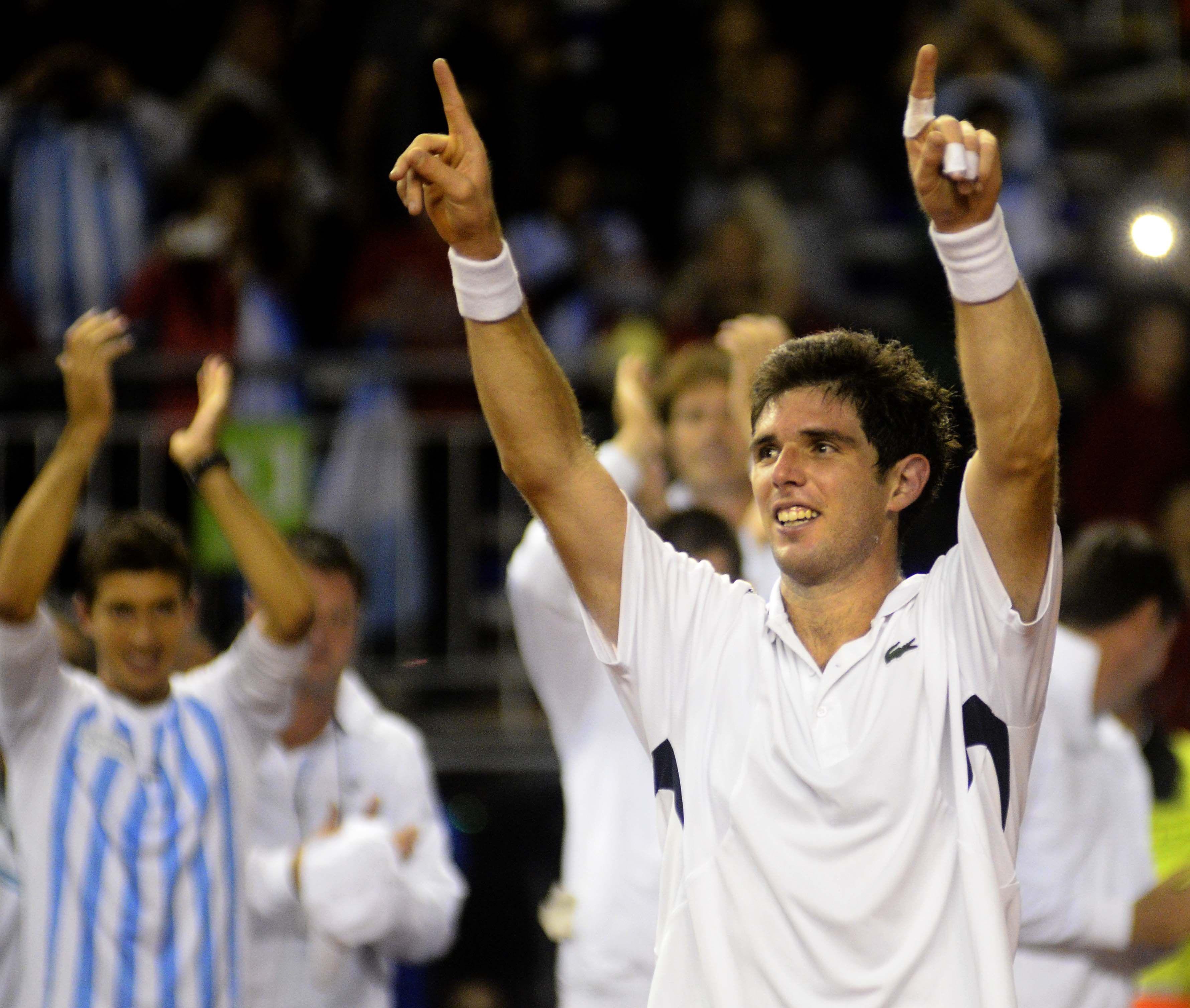 Copa Davis: Delbonis abrirá la serie de cuartos frente a Seppi
