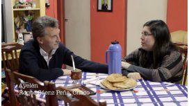 Mates, selfies y torta frita: mirá el spot de Macri