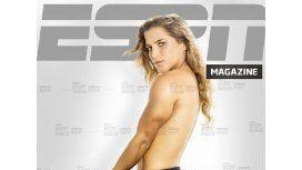 La judoca Paula Pareto se desnudó para la tapa de una revista