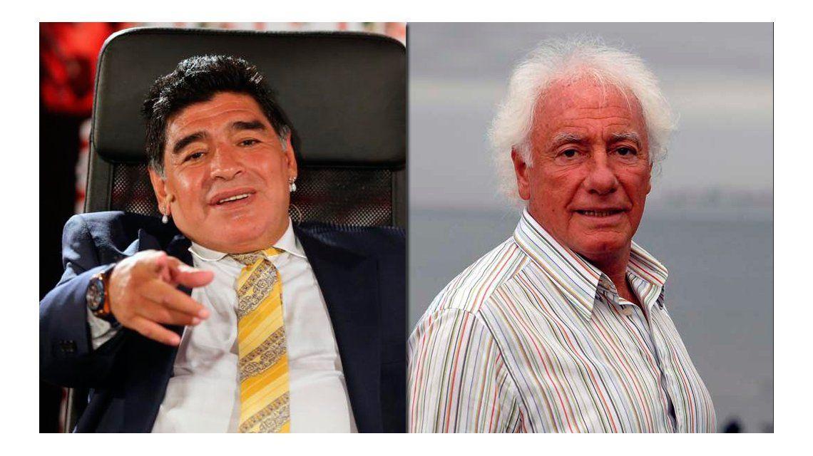 ¿Y el abrazo? Maradona disparó otra vez contra Guillermo Cóppola