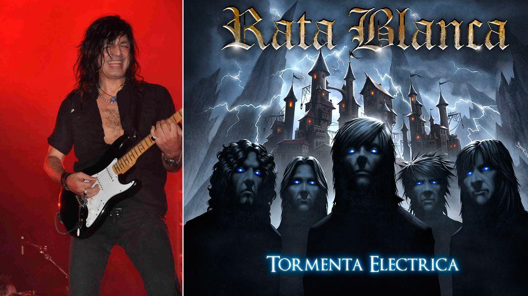 Walter Giardino presentó el nuevo disco de Rata Blanca en Mega 98.3