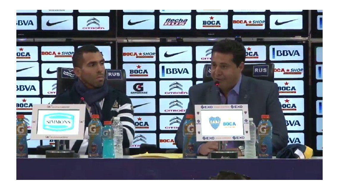 Tevez firmó el contrato y es nuevo jugador de Boca: Vine para ganarle a River y salir campeón