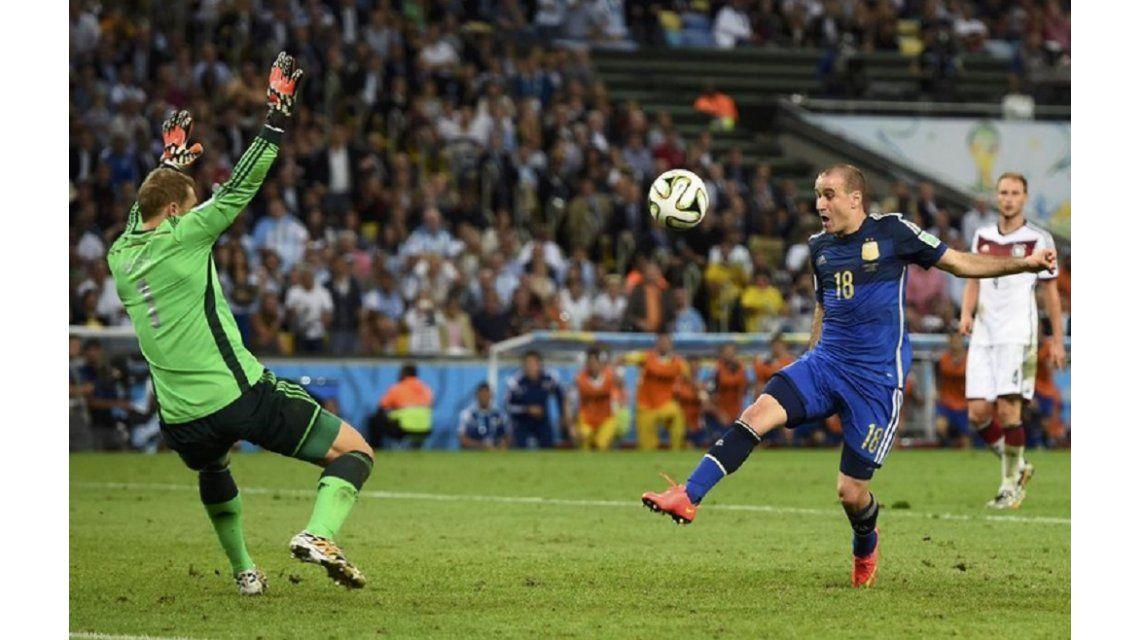 La revelación que Rodrigo Palacio le confió a su amigo Guido Pella sobre el gol errado en la final del Mundial de Brasil