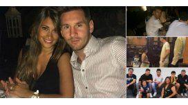 Después de la derrota y el susto, Messi disfruta de sus vacaciones