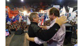 Urribarri presentó a Bordet, el candidato del FPV a sucederlo al frente del Ejecutivo entrerriano