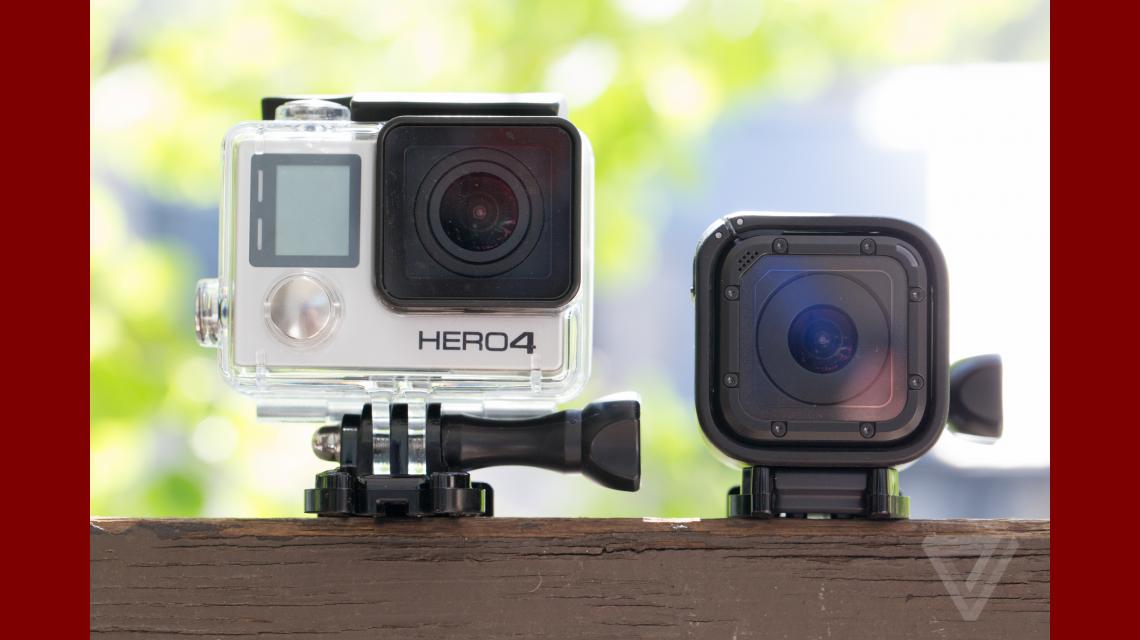 GoPro presentó una nueva cámara miniatura, la Hero4 Session