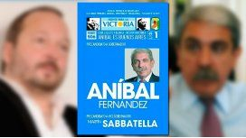 Aníbal Fernández negó que escondiera a Martín Sabbatella