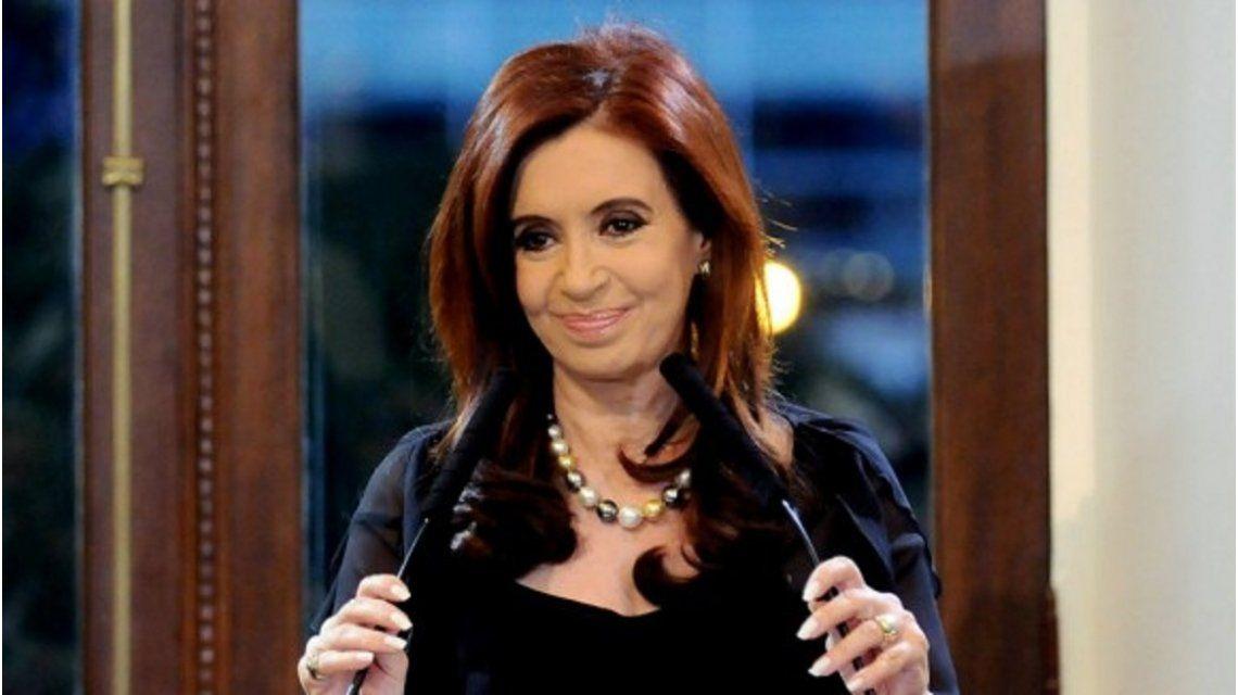 Cristina encabezará un acto en el que recibirá la condecoración de Palestina