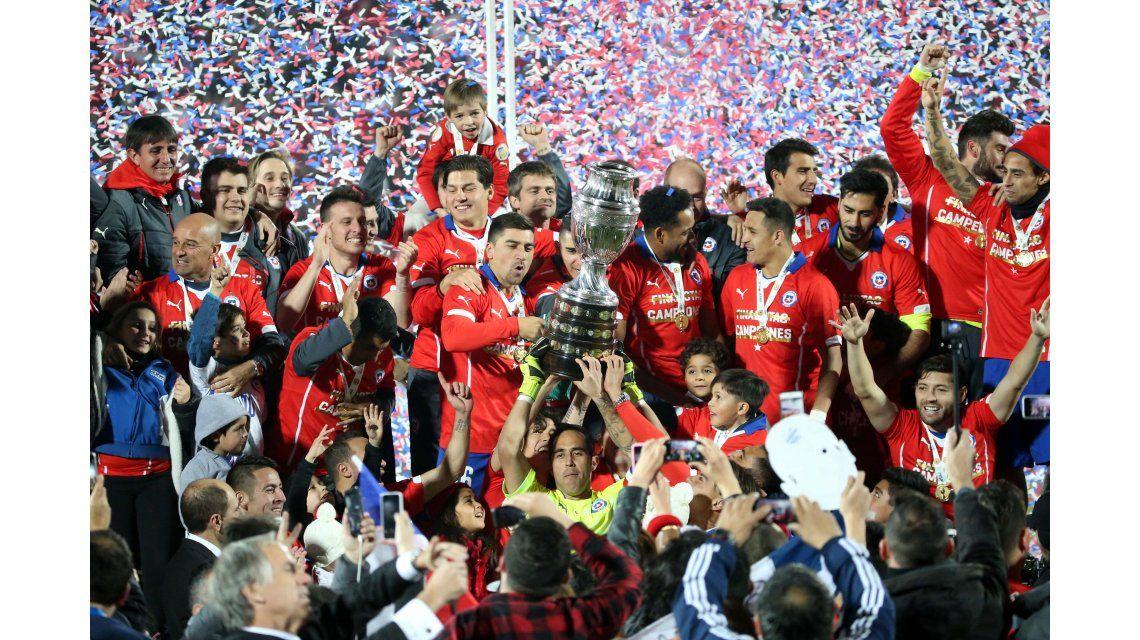 Un incentivo más: la Copa América Centenario de este año será oficial