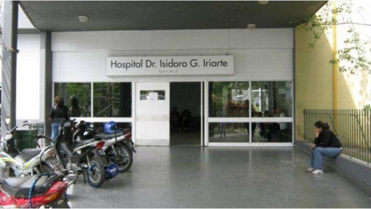La mujer fue trasladada del hospital Iriarte al hospital Alemán