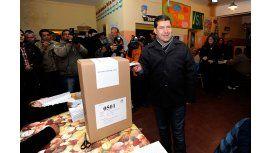 Votó el candidato del FpV en La Rioja y dijo que busca  la equidad de leyes