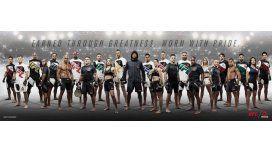 Está a la moda: la UFC ya tiene nueva indumentaria oficial