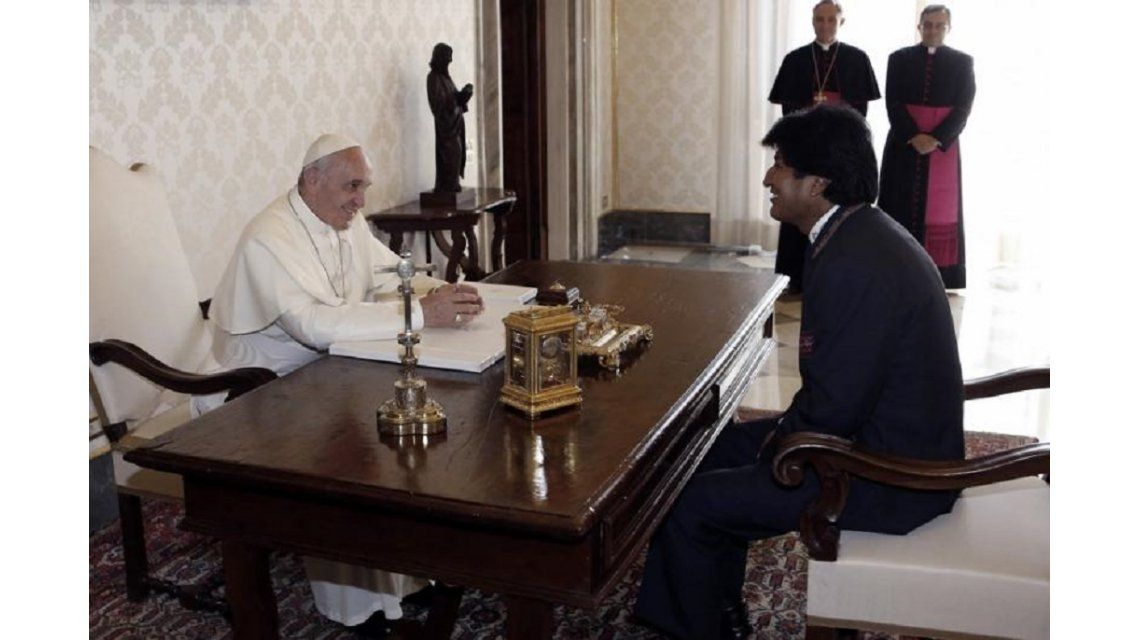 El papa Francisco pidió mascar hojas de coca en Bolivia