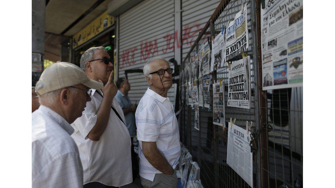 El Gobierno manifestó su solidaridad con Grecia: La crisis se parece a la de Argentina de 2001