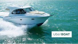 UberBOAT: llegan los barcos de lujo de alquiler