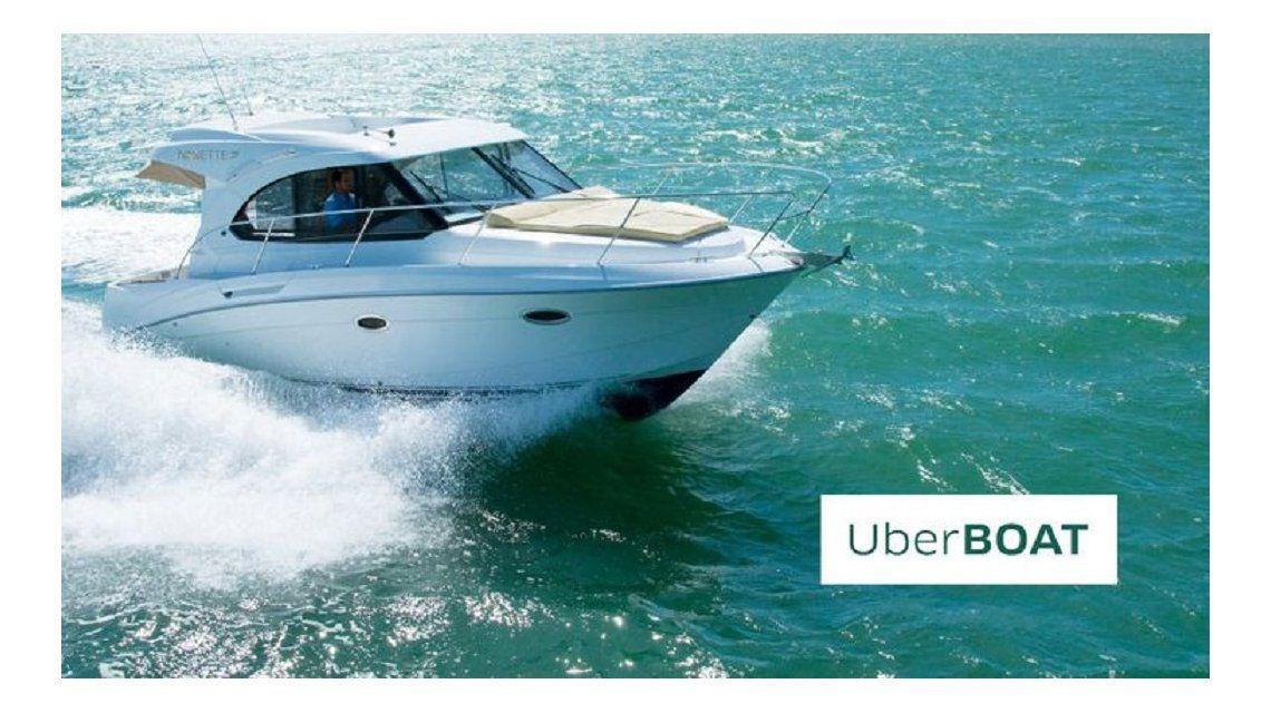 UberBOAT: después de los taxis, llegan los barcos de lujo