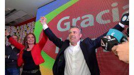 Cornejo, tras el triunfo: Es un orgullo ser electo gobernador