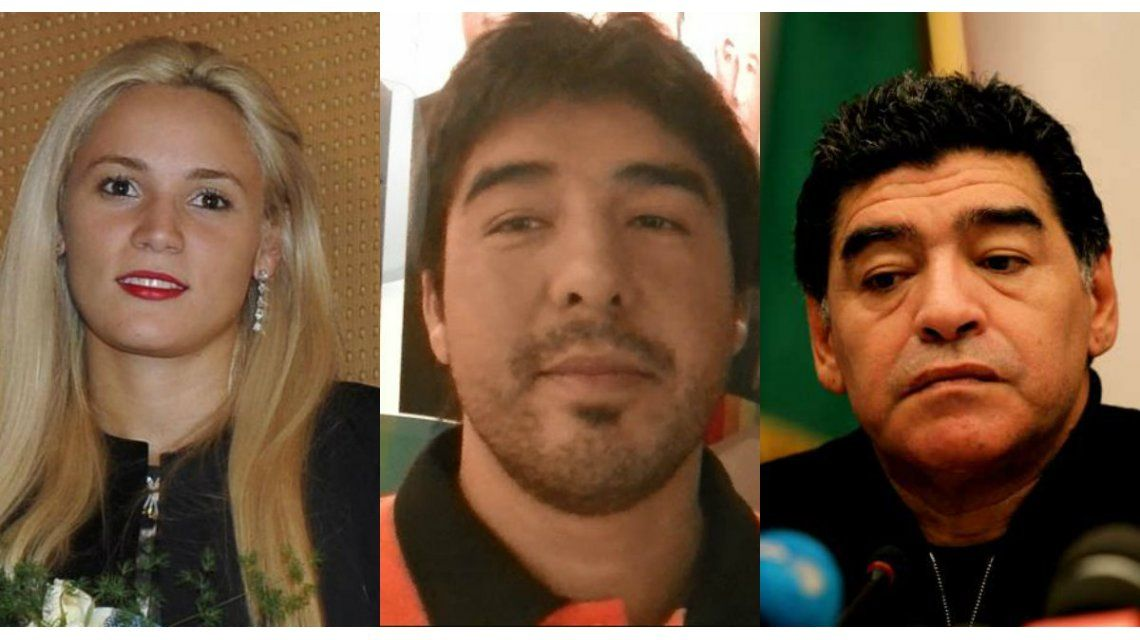 Echaron al Chino Maradona del velatorio de Don Diego
