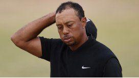 La debacle de un grande: el peor tiro de la carrera de Tiger Woods