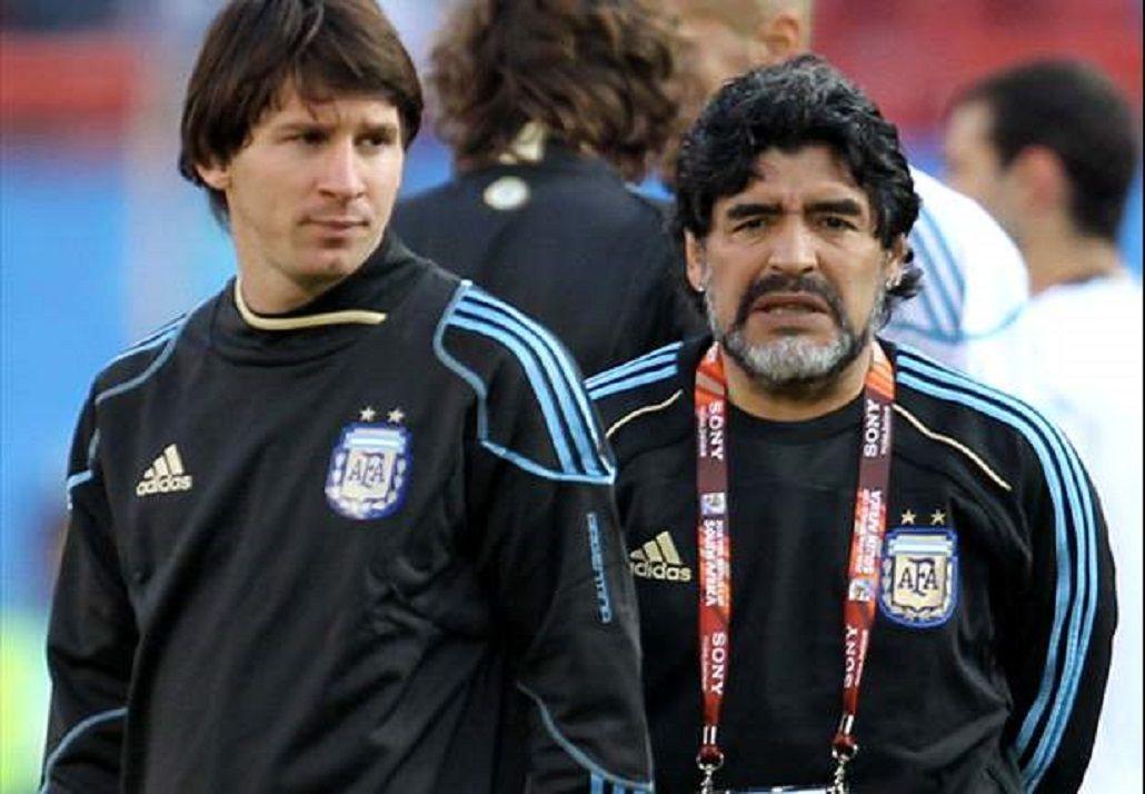Diego Maradona, sobre Messi: Está madurando como jugador