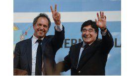 Bossio y Marangoni respaldaron a la fórmula presidencial del FpV